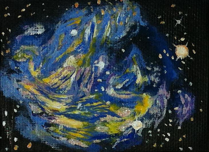 Supernova blue