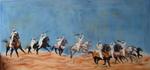 Fantasia race in the desert