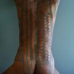 Vintage nude 001-painted