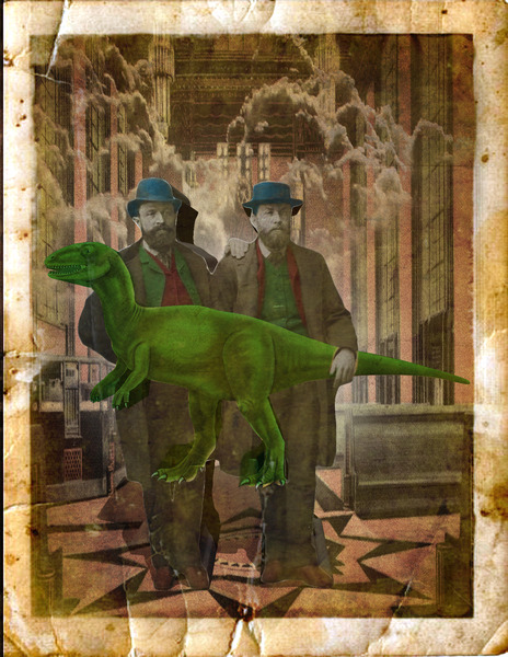 Men and Dino