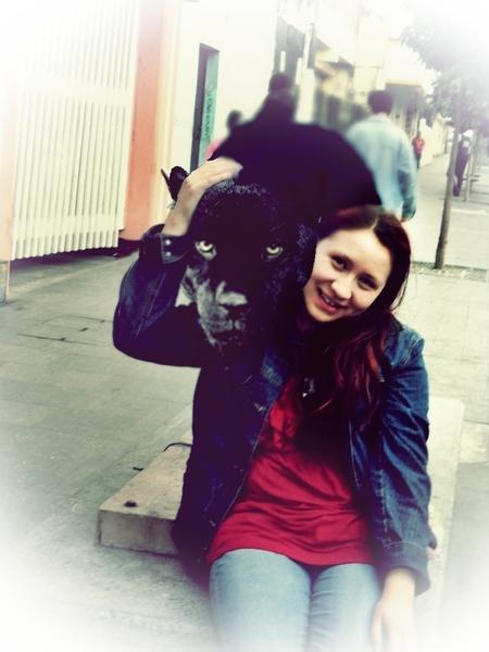 Me with a puma :o