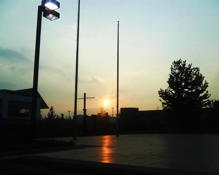 Cuando el sol se va1