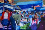 Market in Pisac-Peru