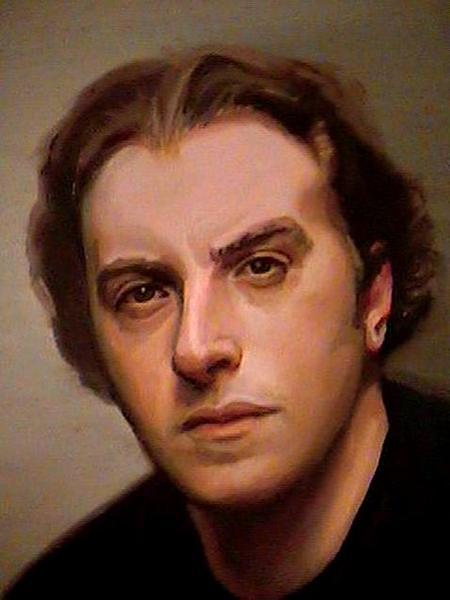 Merrill Kazanjian- Self Portrait 2004