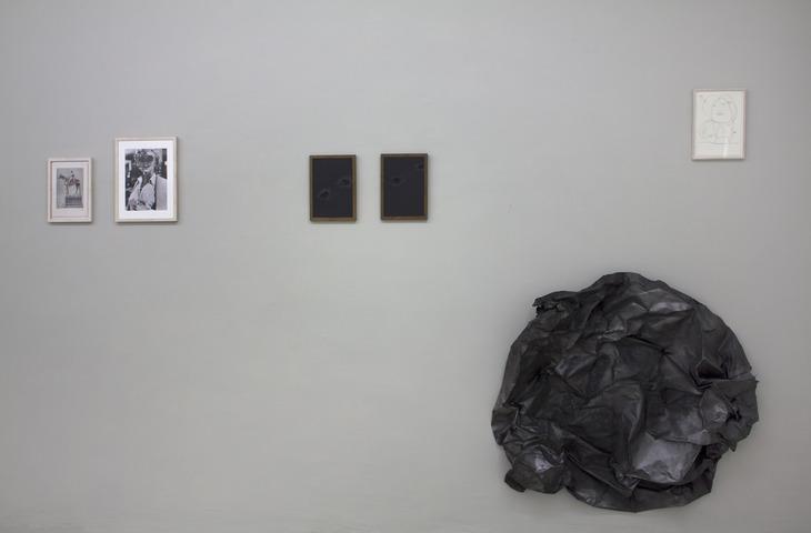 Beyond grey Ausstellungsansicht