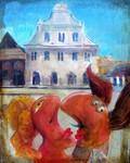 Zakochani w Kazimierzu 1, painting