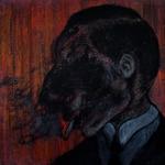 Portrait of Bruno Schulz smoking a cigarette