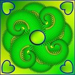Greenish Mandala