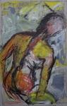 Studie in Gelb und Rot
