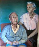 Portrait of Artists Grandparents