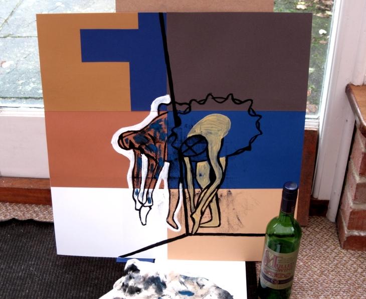 Le Miroir - Une Etude Impressioniste Phase 1