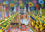fireworks painting photo image images free paintings art painter