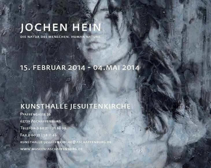 Jochen Hein - Exhibition Aschaffenburg