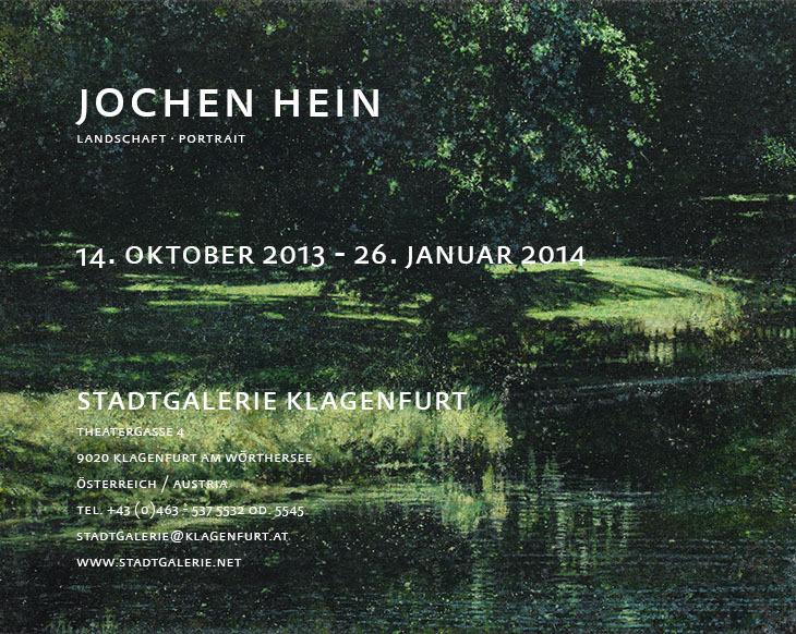 Jochen Hein - Exhibition Klagenfurt