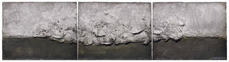 Tríptico matérico / Matter triptych