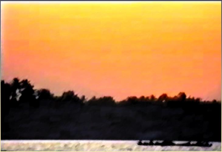 India Cochin sunset