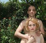 raphael perez self portrait naked nude with ezadora