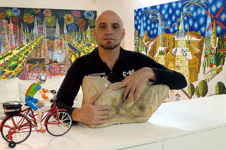 raphael perez art studio naive paintings artwork