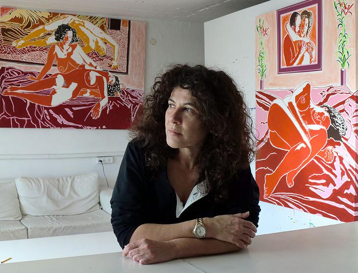 aliza saban art collector love lesbian artworks