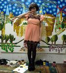 efrat gush singer gash josh gash on raphael perez art studio