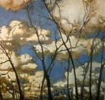 Winter Trees, 44 x 46