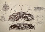 33 Unda stationara circular toroidala incipienta lichid vortex p