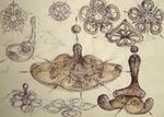 34 Unda stationara circular Pentagonala lichida vortex principiu