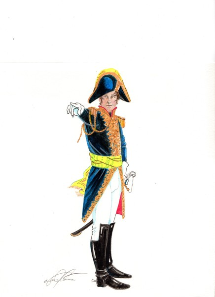 Imperial French Officer