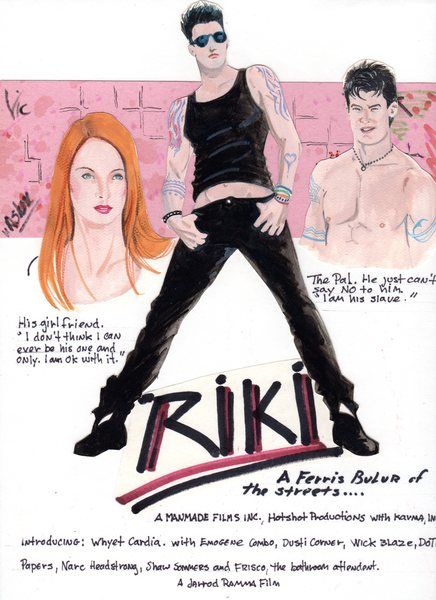 Riki (facticious movie poster)