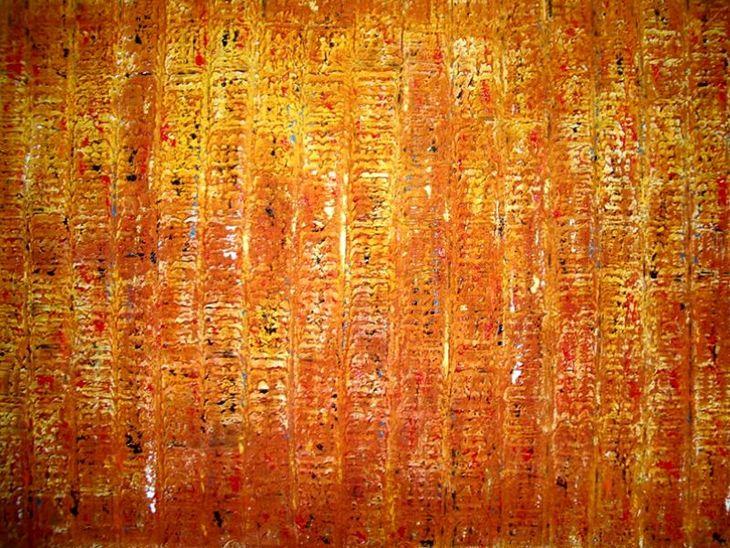 ÁGAPE - 2005 - Mista sobre tela - 0,90 x 130 cm