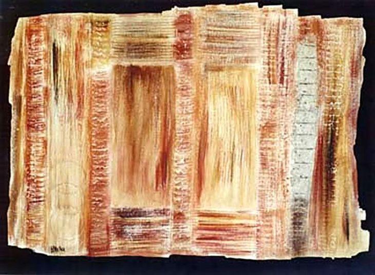 ALLIANCE -Mista sobre tela  0,90x1,20 cm 1997