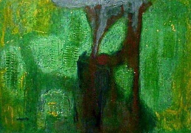 Amazonas - 100 x 168 cm - 1996