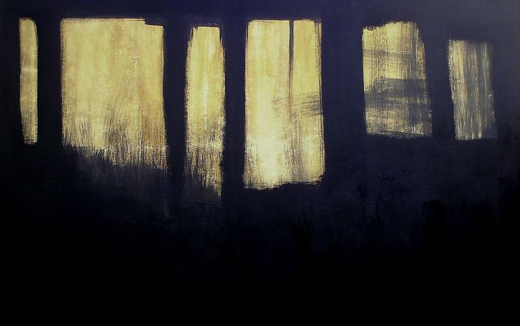 WINDOWS VI - 2007-2008 -MST -90 x145x05cm -