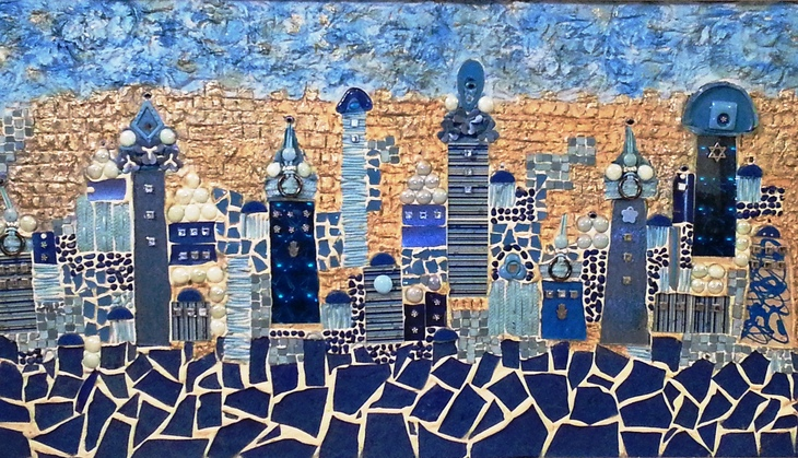 Jerusalem in Blue