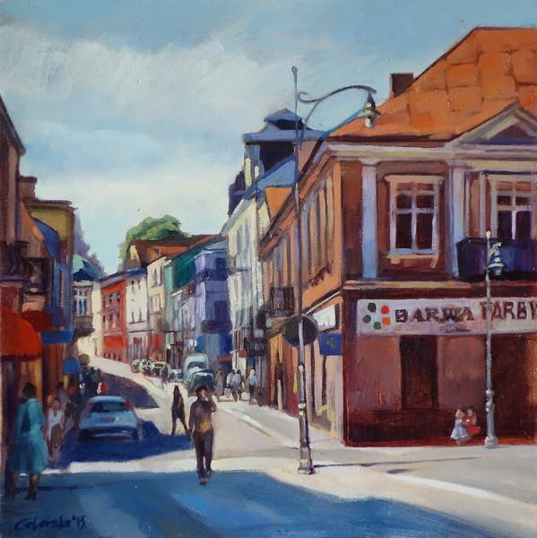 Kielce, corner of Duza Street and Rynek