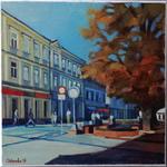 Kielce,corner of Sienkiewicza and Duza Street