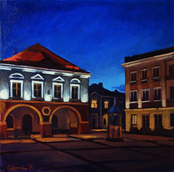Kielce, citylights
