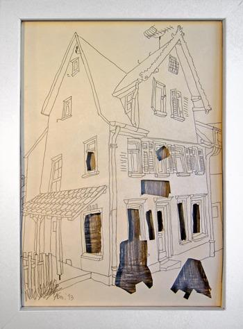 Leerstand 2, aus der Reihe Stadtbilder Sindelfingen
