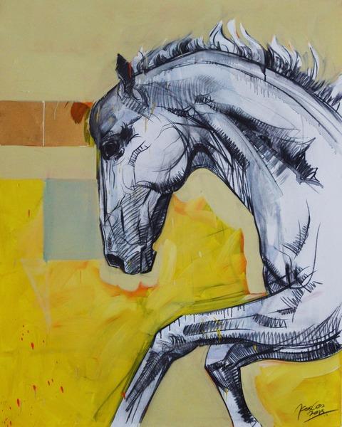 Silver Horse 03