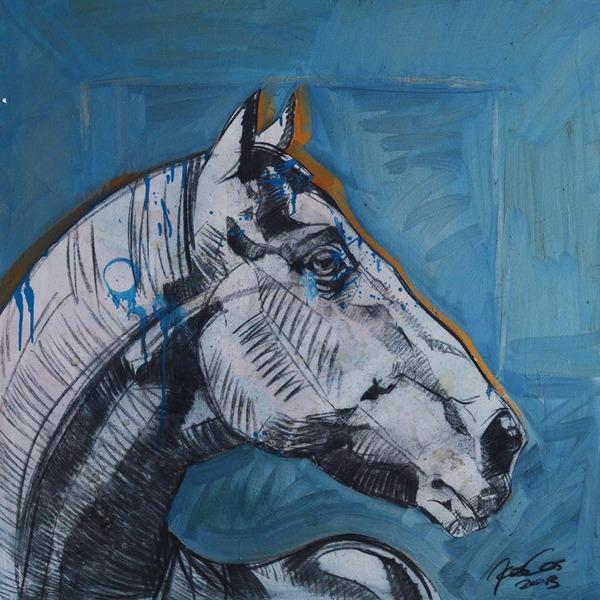Silver Horse 05