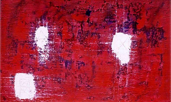Muros - 1998- Mista sobre tela - 90 x 160cm