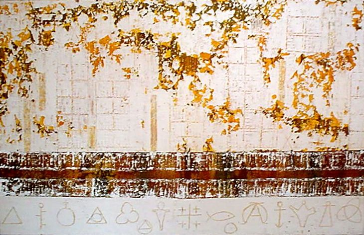 MUROS CIDADE - 2002 - 90  x 152cm