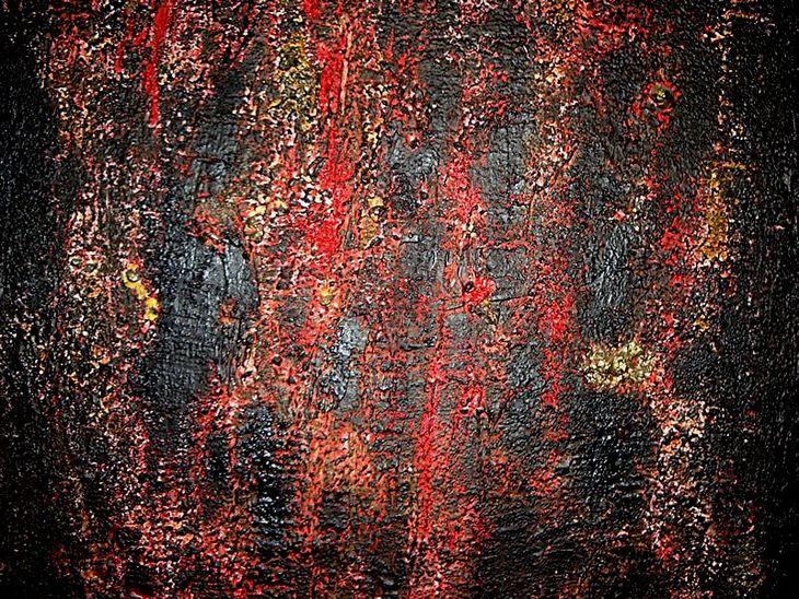 MUROS XXVII- 90 x 130cm -2005 -madeira