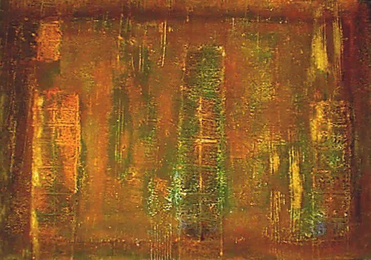 MUROS XI - 2000 - Mista sobre tela- 90 x 140cm