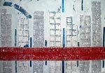 CIDADES IV - 90 x 130cm-2004
