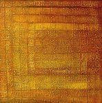 Fragmentos da porta do Templo -   1998 -100 x 100cm