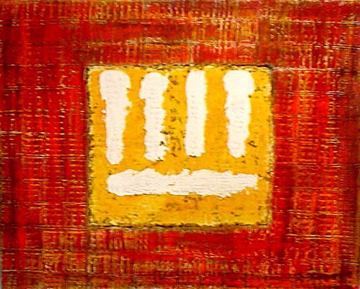 HN SEM TÍTULO -04-2003-Mista sobre tela 80 x 100