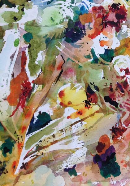 Étude aquarelle VI - Détail 2