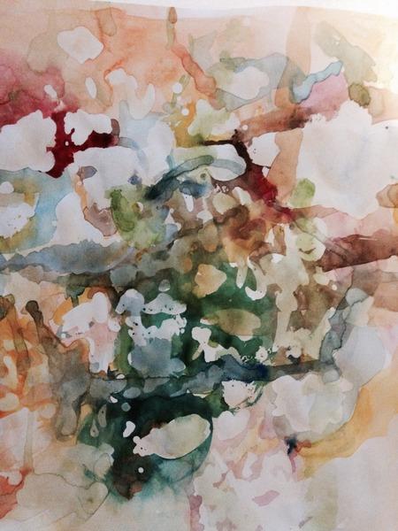 Étude aquarelle I