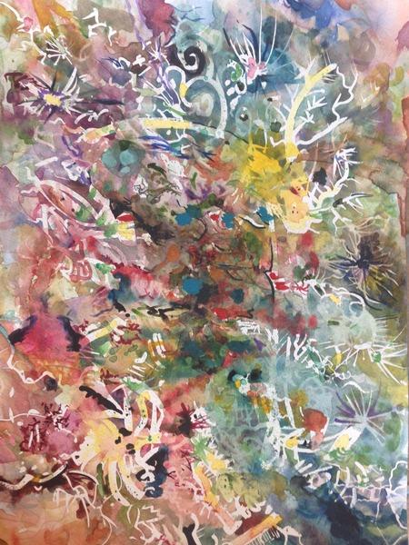 Étude aquarelle V
